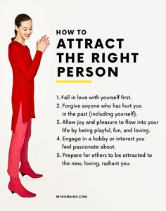 How to attract the perfect person for you