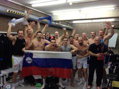 Slovenian handball national team going World quatrfinal 2013