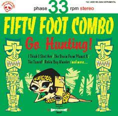 Fifty Foot Combo (Bélgica) Portada 2 Reedición del 2001 Art: Matto Le D.