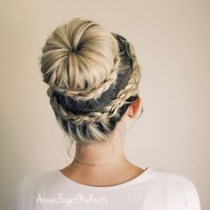How To: Lace dutch crown braid + Lace dutch braided bun (ballerina bun)