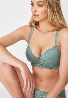 Feel confident and feminine with the Hayley Up 2 Bra. Double padded foam cups make this push up bra increase your cup by two sizes, while offering the most support. From every day to a special occasion, this push-up bra has got you covered. Affordable Lingerie, Hip Bones, Lingerie Sleepwear, Green Cotton, Body Measurements, Bra Sizes, Fashion Brand, Push Up, Tights