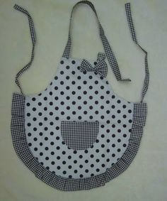 Sweet apron pattern and fabric combo