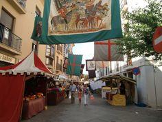 Mercado medieval en Zamora. Mes de septiembre