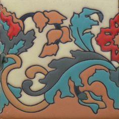 Prima Mexican Tile - Capricho Left – Mexican Tile Designs
