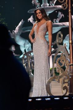 Miss Colombia Paulina Vega is crowned Miss Universe 2015 onstage during The 63rd Annual Miss Universe Pageant at Florida International University on January 25, 2015