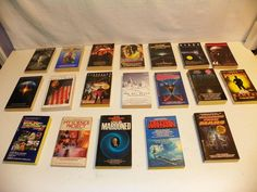 MODERN+VINTAGE SCI-FI MOVIE TIE-IN PAPERBACK BOOK LOT-SCIENCE FICTION SF FANTASY  | eBay