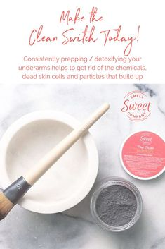 Consistently prepping/detoxifying your underarms helps to get rid of the chemica Deodorant For Women, All Natural Deodorant, Organic Beauty, Organic Skin Care, Skin Detox, Detox Armpits, Diy Beauty Projects, Natural Lifestyle, Diy Skin Care
