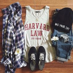 Image via We Heart It #clothes #cool #fashion #outfit #vans #girlystuff #ootd