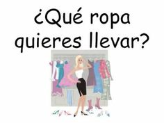 ¡Vamos a bailar! Ropa song clothing and colors in spanish