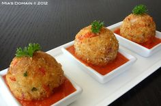 Mia's Domain | Real Food: Baked Rice Vegetable Fritters (gluten-free)