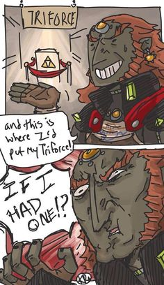Poor ganon//THAT FOP REFERENCE THO