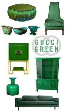 emerald green home furnishings / sfgirlbybay