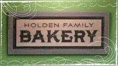 Make your own vintage style sign.  I just love Cathe Holden! She has such great ideas.