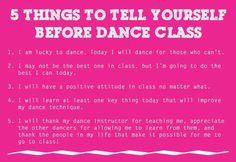 Motivatie voor de dansles #Dansen #Ballet #Quote