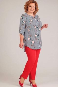 53 Plus Size Outfits To Inspire Every Girl - Fashion Fit Out Dress Shirts For Women, Blouses For Women, Plus Size Outfits, Trendy Outfits, Modest Fashion, Fashion Dresses, Plus Size Kleidung, Elegant Outfit, Plus Size Women