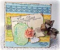 Shabby Chevrons designed by Melissa Bove