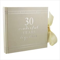 30 Year Wedding Anniversary Gifts