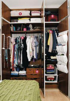 Ter cabides, gavetas e prateleiras em ordem se tornará uma missão possível também no seu quarto com nossas dicas espertas