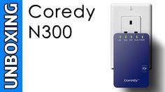 Coredy WN300 Mini WiFi Range Extender Unboxing