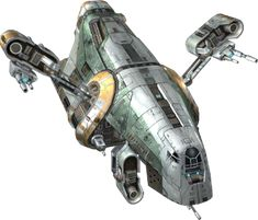 My most disliked ship of SWTOR, way to big and bulky looking for a sleek, fast, and efficient bounty hunter.