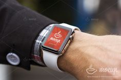 PSD Apple Watch Mockup