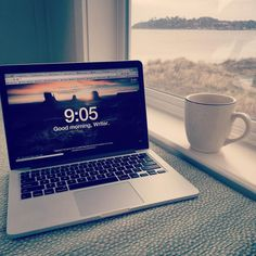 When it comes to writing it's hard to beat a long weekend at the beach. #writing #amwriting