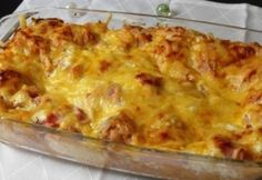 Green Eggs And Ham, Guam, Winter Food, Lasagna, Food To Make, Macaroni And Cheese, Main Dishes, Bacon, Good Food