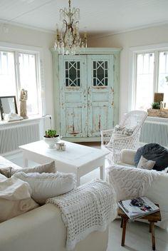 love that corner cabinet