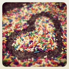 I <3 Our Sprinkle Masterpiece with @CourtNush