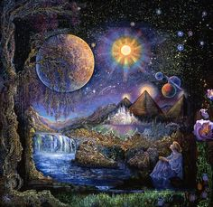 Josephine Wall - Doorway to the Stars - Blank Select Card