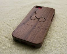 Wood iPhone 5C case Natural iPhone 5C case Harry Potter by WoWood, $24.99