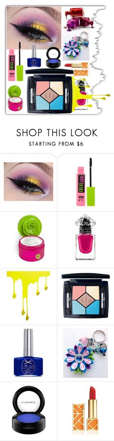 """""""Crayon-Inspired Makeup"""" by airin-flowers ❤ liked on Polyvore featuring beauty, Maybelline, Bond No. 9, Guerlain, WALL, Christian Dior, Ciaté, MAC Cosmetics, Tory Burch and Color"""