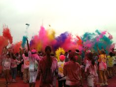 Color Run SoCAL 4.22.2012. EPIC. i will never forget this day! @cm
