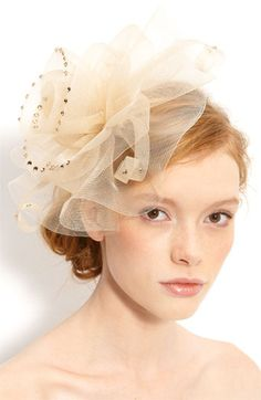 Tasha 'Awesome Blossom Fascinator' Headband available at Nordstrom. Someone make me a neon colored one please!