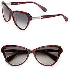 56MM Cat s-Eye Sunglasses Óculos De Sol Do Olho De Gato, Óculos De Sol cced091ef4