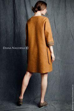 Легкое пальто из мериносовой шерсти и шелка - пальто,пальто женское,пальто из шерсти