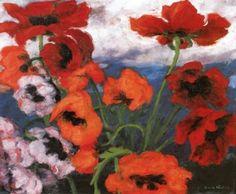 Large Poppies - Emil Nolde - The Athenaeum