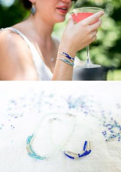 Seed Bead Bracelet - I have a zillion seed beads around here and I think I have most of the other supplies - very pretty and very delicate and reasonably easy - I love easy