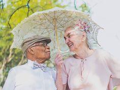 Casal que teve romance proibido faz ensaio de 60 anos de amor