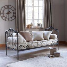 Chaise longue Lizzie blanche - meuble de jardin aluminium style ...