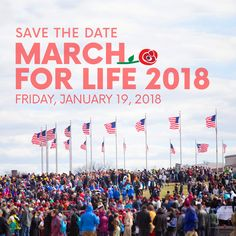 The March for Life is more than just a one-day event; it is a movement of pro-life awareness and activism. It's critical that we work each and every day to build a culture of life.
