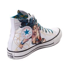 bfdfa68e0 NEED - Converse All Star Hi Wonder Woman Sneaker Zapatillas Para Correr