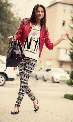 #romanticazerbaijan #baku #azerbaijan #gence #georgia #red #jacket #legins #new #collection #2013 #2014 #fashion #beauty #girls #shoes #flag #smile #love #longhair #numberone