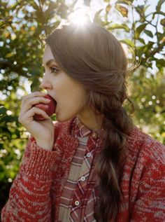 If I were going to an apple orchard, this is how I would dress...fall may see this look from me!