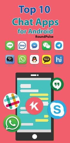 Top 10 Chat Apps for Android -  install on your Phone