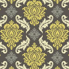 Damask in Granite - Joel Dewberry - Aviary 2