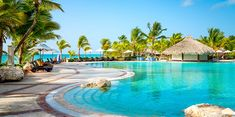 {Casando no Caribe} Sanctuary Cap Cana All Inclusive Honeymoon Resorts, Caribbean Honeymoon, Punta Cana, Sanctuary Cap Cana, Unique Architecture, Cool Pools, Villa, Castle, Vacation