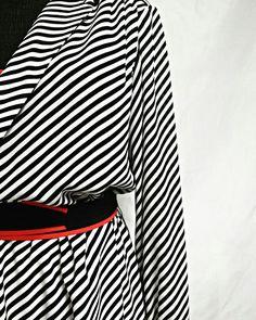 #MarcoPecci couture  #stripes dress 1980 Lerario Lapadula #Fashion Archives 📏📏📏📏📏📏📏📏 #vintage #vogue #styling #dress #punk #80s #optical #moda #designer #photo #photography #movie marco pecci strisce abito