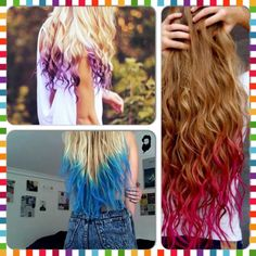 How To Dip Dye Your Hair With Koolaid #Beauty #Trusper #Tip