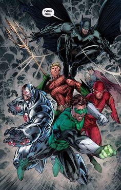 Justice League #10 by Jim Lee